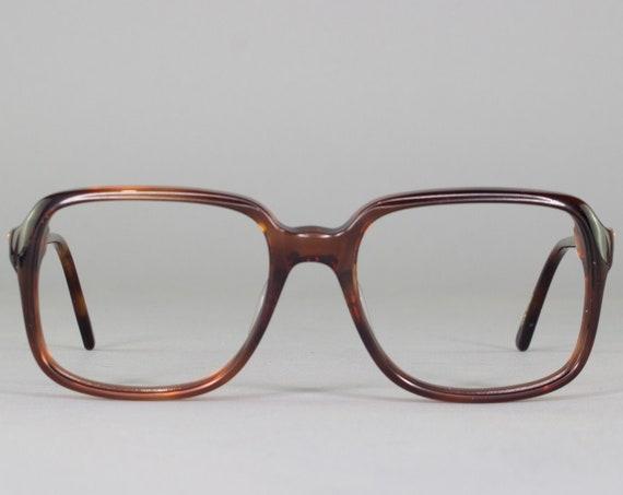 Vintage 70s Glasses | Clear Tortoiseshell Round Eyeglass Frame | 1970s Eyeglasses | Deadstock Eyewear - Ottawa 3