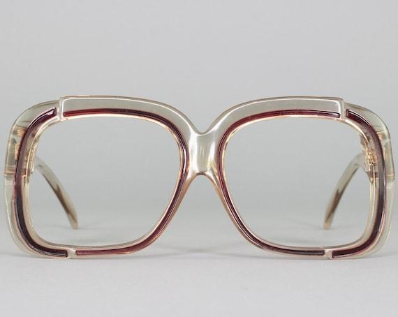 Vintage Eyeglasses | 70s Glasses | Vintage Eyeglass Frame | 1970s Aesthetic | Deadstock Eyewear - M50-5