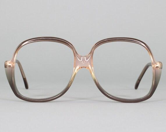 Vintage 1980s Eyeglass Frame | Clear Glasses | 80s Eyeglasses | Made in Italy | Deadstock Eyewear - Fantasia 2