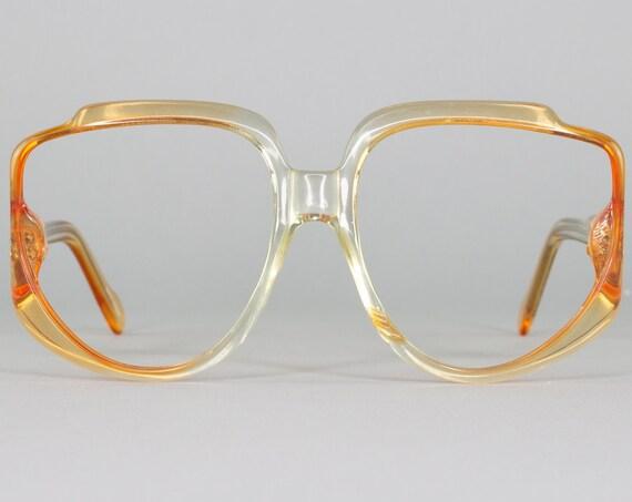 Vintage Eyeglasses Frame | Oversized 70s Glasses | Vintage Eyeglass | 1970s Aesthetic | Deadstock Eyewear - 167