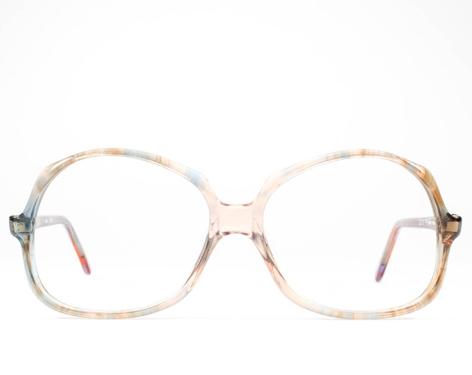 Vintage 1970s Eyeglasses | 70s Glasses | Oversized Glasses Frames | Seventies Deadstock Eyewear - Douce 04