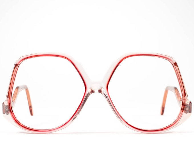70s Glasses | Vintage Eyeglasses | 1970s Oversized Glasses Frames | 1970s Deadstock - Mood Cherry