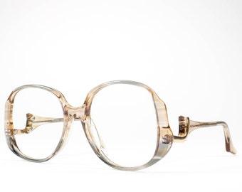 Vintage 70s Glasses | 1970s Eyeglasses | Oversized Glasses Frames | Seventies Deadstock Eyewear - Helena 3