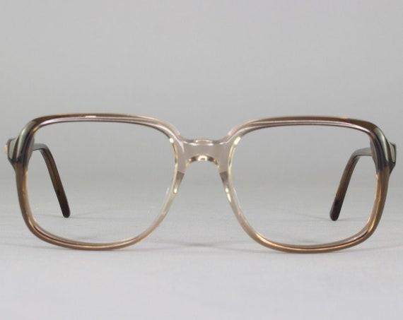 Vintage Eyeglasses | 70s Glasses | Clear Gray Eyeglass Frame | Deadstock Eyewear - Ottawa 4