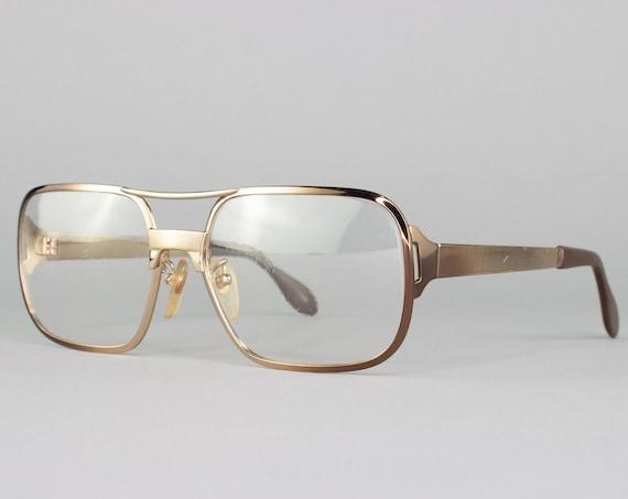 1980s Vintage Eyeglasses | Copper 80s Glasses | Eyeglass Frame | Dead Stock Eyewear - Westerner