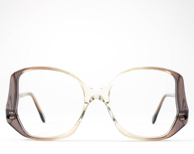 Vintage 70s Glasses | Oversize Glasses Frames | 1970s Eyeglasses | Seventies Deadstock Eyewear - Victoria 2