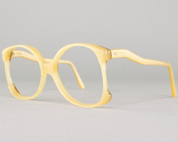 Vintage Eyeglasses | 70s Glasses Frame | Oversized Eyeglass Frames | 1970s Aesthetic | Deadstock Eyewear