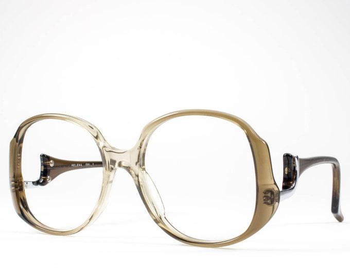 70s Glasses | Vintage Eyeglasses | 1970s Oversized Glasses Frames | Seventies Deadstock Eyewear - Helena 1