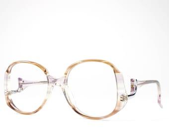 1970s Eyeglasses | Vintage Glasses | 70s Oversized Glasses Frames | Seventies Deadstock Eyewear - Helena 4