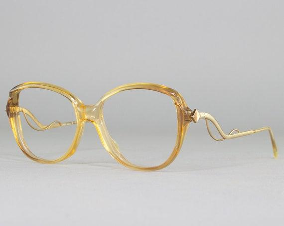 1980s Vintage Eyeglass Frame | Early 80s Glasses | Round Eyeglasses | Deadstock Eyewear