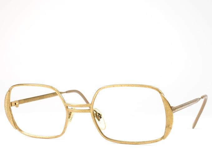 Vintage Eyeglasses | 60s Glasses | 1960s Gold Filled Glasses Frames | 1/20 14k GF Eyeglass Frame - Madona