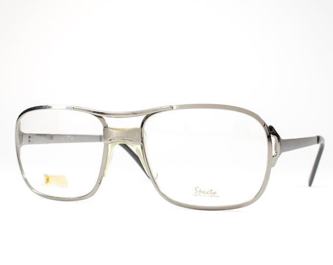 70s Glasses | 1970s Vintage Eyeglasses | Oversized Glasses Frames | Seventies Deadstock Eyewear - 25