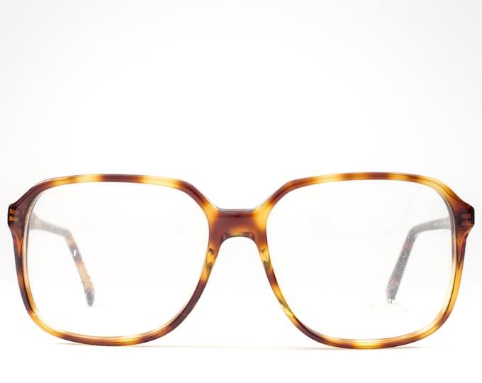 1980s Vintage Eyeglasses | 80s Glasses | Oversized Glasses Frames | Big Eyeglass Frame - Dennis