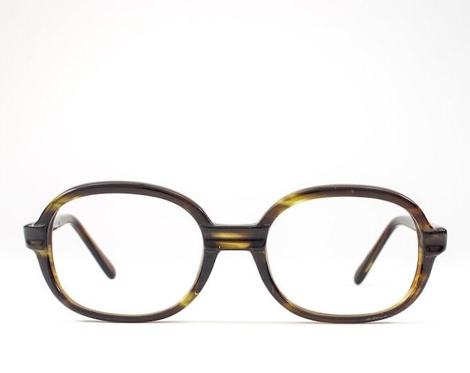60s Vintage Eyeglasses | 1960s Glasses | Round Glasses Frames | Tortoiseshell Eyeglass Frame - Babylove