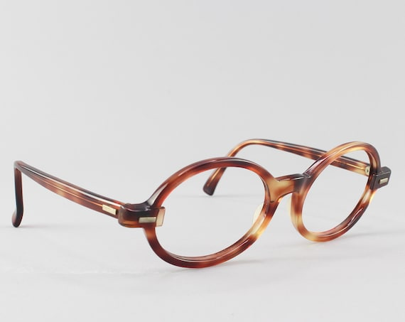 Vintage Glasses | 60s Eyeglasses | 1960s Mod Aesthetic | Bausch and Lomb Eyeglass Frame - Tenley