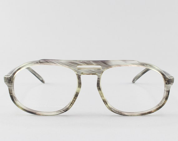 Vintage Eyeglasses | 70s Aviator Glasses | 1970s Eyeglass Frame - Age of Aqaurius