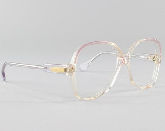 70s Glasses |Vintage Eyeglasses | Purple Ombre Glasses Frame | 1970s Aesthetic - Lisa