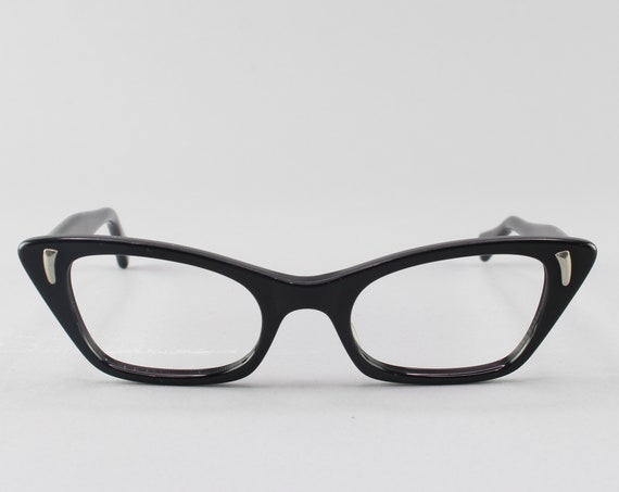 Vintage Eyeglasses | 60s Glasses | Cateye Eyeglass Frame | 1960s Look - Saarinen