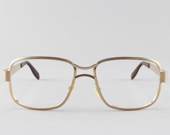 Vintage Eyeglasses |  70s Glasses | Minimalist Eyeglass Frame | Vintage Aesthetic - New Yorker
