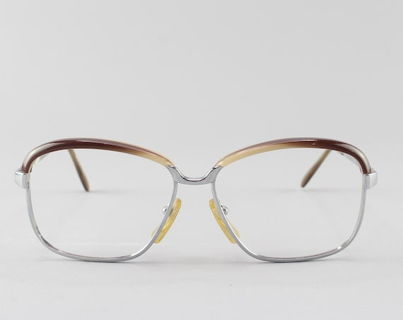 70s Eyeglasses | Vintage Glasses | 1970s Aesthetic | Unique Eyeglass Frame - Aline