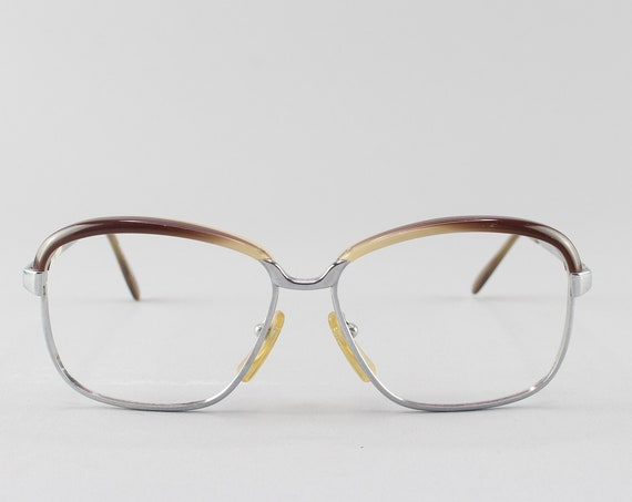 70s Eyeglasses | Vintage Glasses | 1970s Aesthetic | Unique Eyeglass Frame - Aline