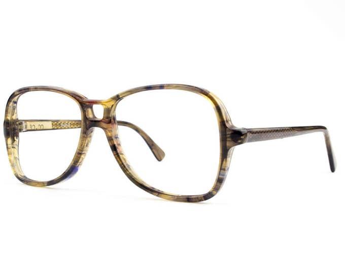 70s Vintage Aviator Eyeglasses | Clear Brown Aviator Glasses | NOS 1970s Aviator Eyeglass Frame - Taurus