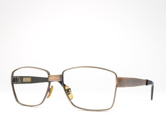 60s Glasses | 1960s Vintage Eyeglasses | Unique Copper Frames | Sixties Deadstock Eyewear - Copper