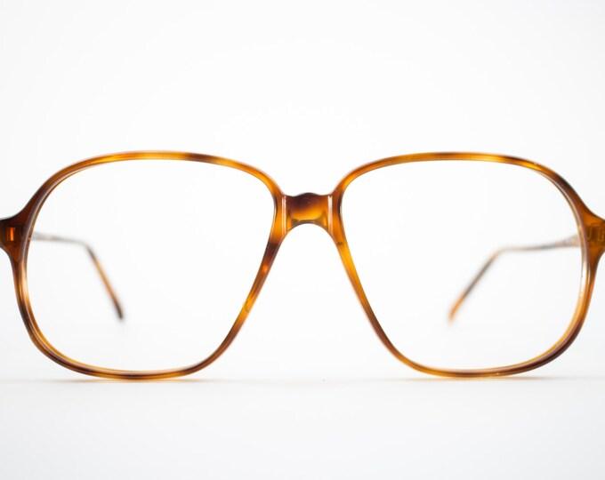 80s Glasses | Vintage Frames | Tortoiseshell Hipster Glasses | NOS - Pisa 3703