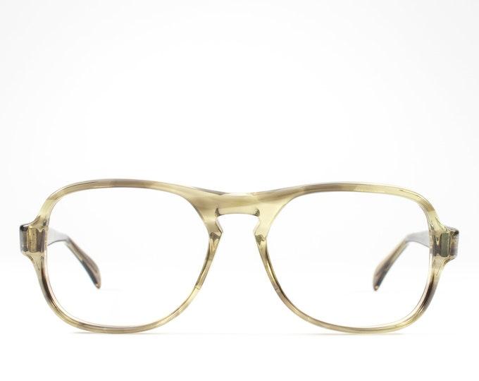 Vintage Eyeglasses | 70s Eyeglass Frame | 1970s Glasses | Seventies Deadstock Eyewear - Pendleton Lava