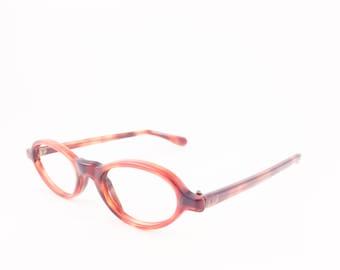 Vintage 60s Shuron Eyeglasses | Tortoiseshell Cateye Glasses | NOS Eyeglass Frame | Deadstock Eyewear - Whirly