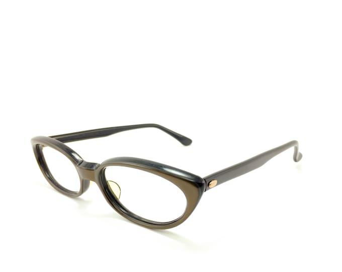 Vintage 60s Cateye Eyeglasses | Bronze Cateye Glasses | NOS Eyeglass Frame | Deadstock Eyewear - Isabel Bronze