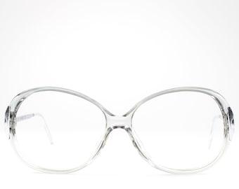 80s Vintage Glasses | Clear Eyeglasses | Cute Eyeglass Frame | 1980s Round Glasses - Hyatt 2