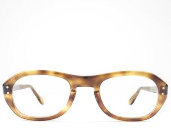 1960s Glasses   Vintage Eyeglass Frame   Tortoise 60s Eyeglasses   Seventies Deadstock Eyewear - Bud Blonde