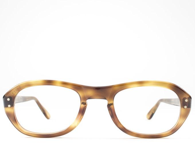 1960s Glasses | Vintage Eyeglass Frame | Tortoise 60s Eyeglasses | Seventies Deadstock Eyewear - Bud Blonde