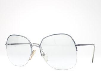 70s Sunglasses   1970s Vintage Eyeglasses   Oversized Glasses Frames   Seventies Deadstock Eyewear - R/71