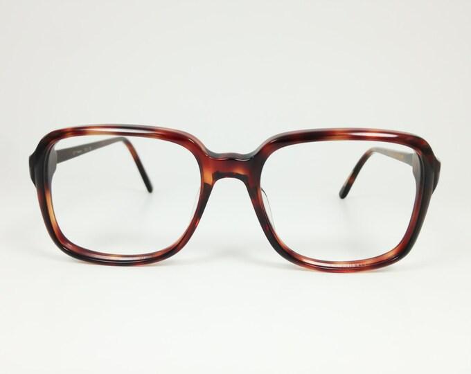 Vintage 1970s Glasses | Tortoiseshell Horn Rim Eyeglasses | NOS Vintage Deadstock - Ottawa