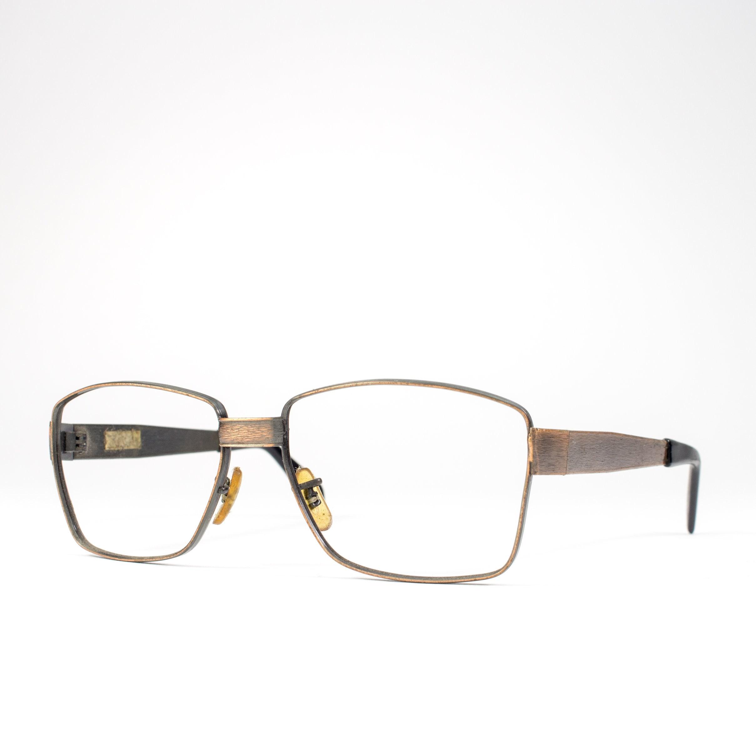 60s Glasses | 1960s Vintage Eyeglasses | Unique Copper Frames ...