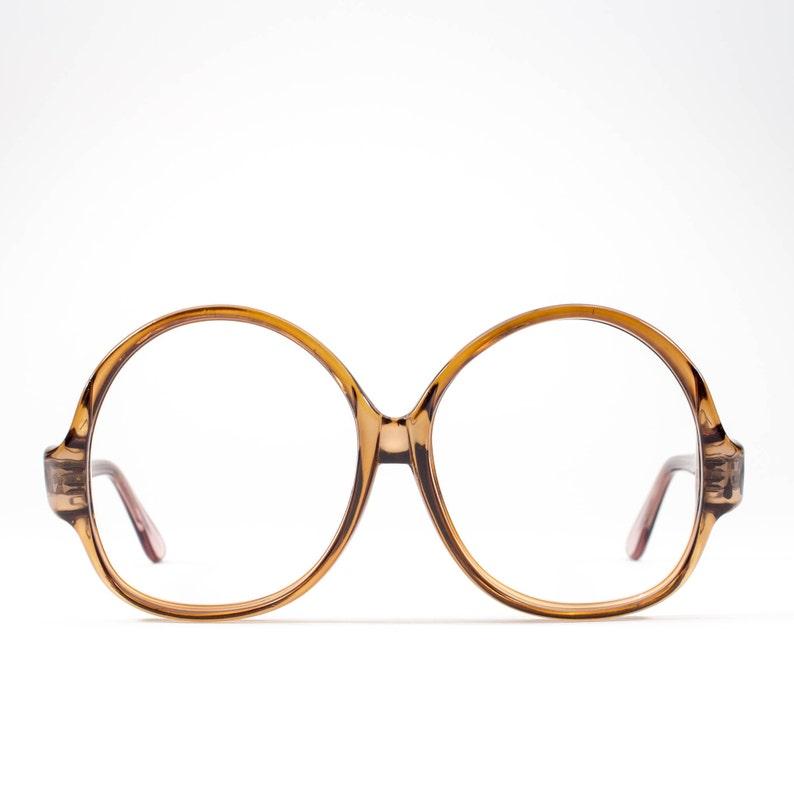 fd3e20b465f 1970s Oversized Glasses Frames 70s Glasses Vintage
