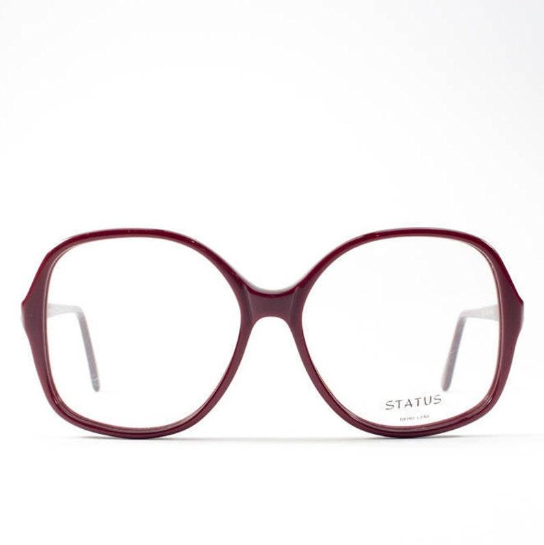 2e43b93a8bd0 Vintage Eyeglasses 80s Glasses Frames Oversized Eyeglasses