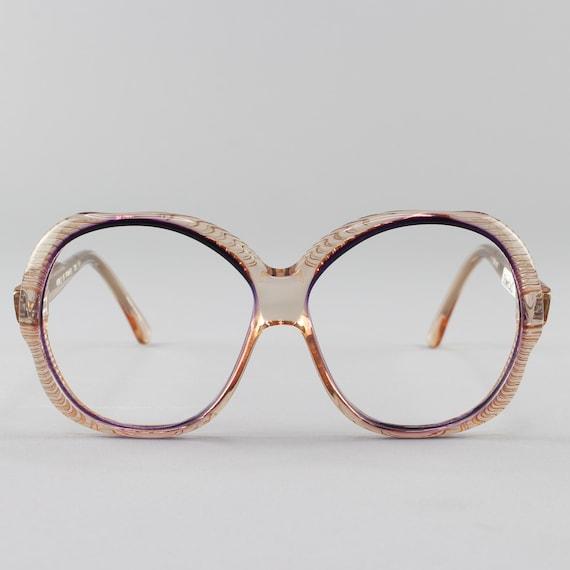 Vintage 70s Glasses | Oversized Round Eyeglasses | 1970s Eyeglass Frame | Deadstock Vintage - Torino 1