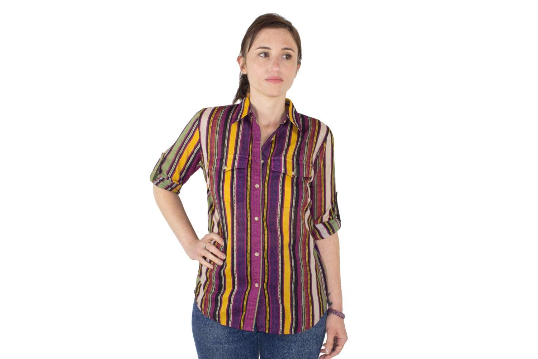 d76693f39 Vintage 90s Ralph Lauren Striped Shirt | Long Sleeve Button-down ...