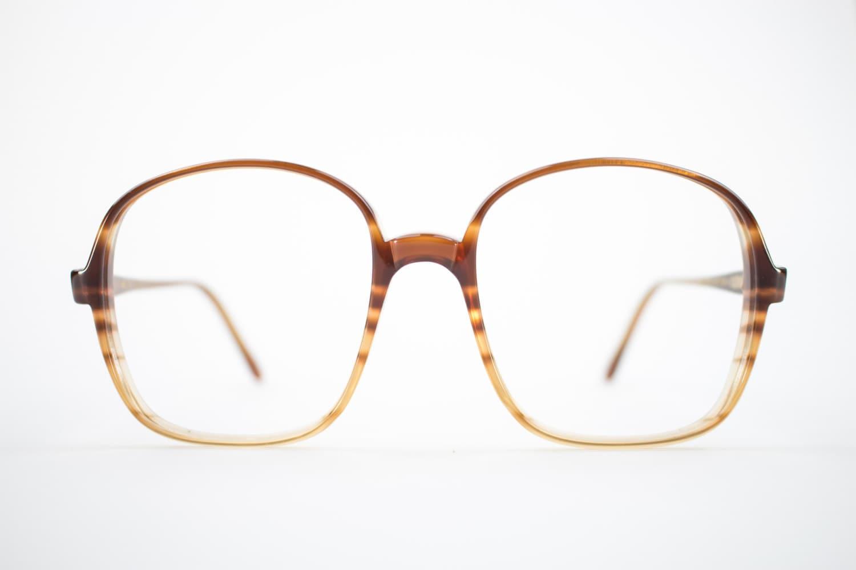 80s Vintage Eyeglass Frame | Oversized Clear Round 1980s Glasses ...