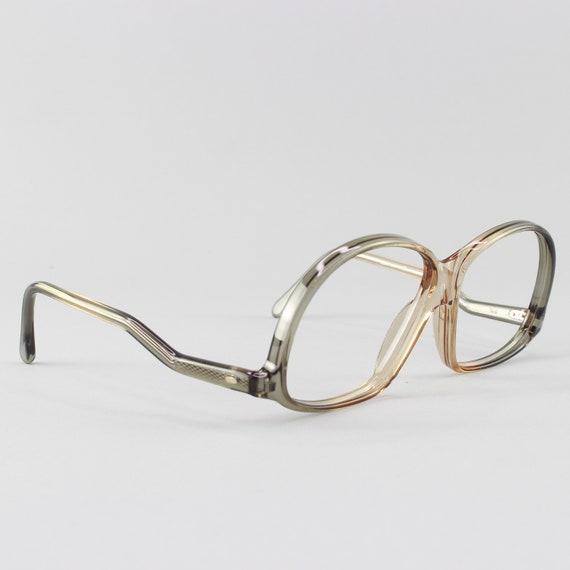 Vintage Eyeglasses | 70s Glasses | Clear Gray Glasses Frames | 1970s Eyeglass - M20-3