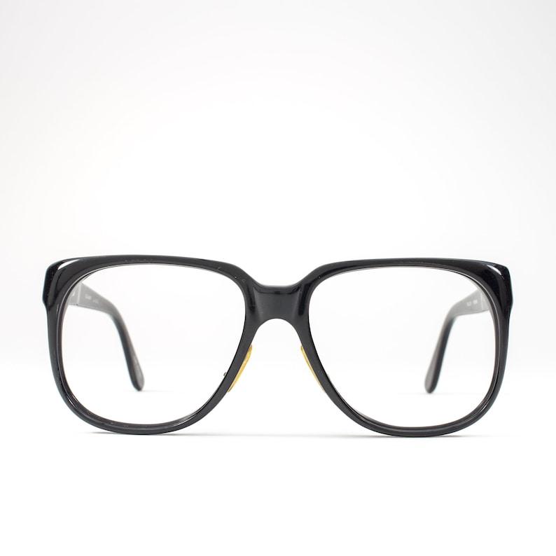 618aaf7d511e Vintage Eyeglasses 80s Glasses 1980s Horn-Rimmed Glasses