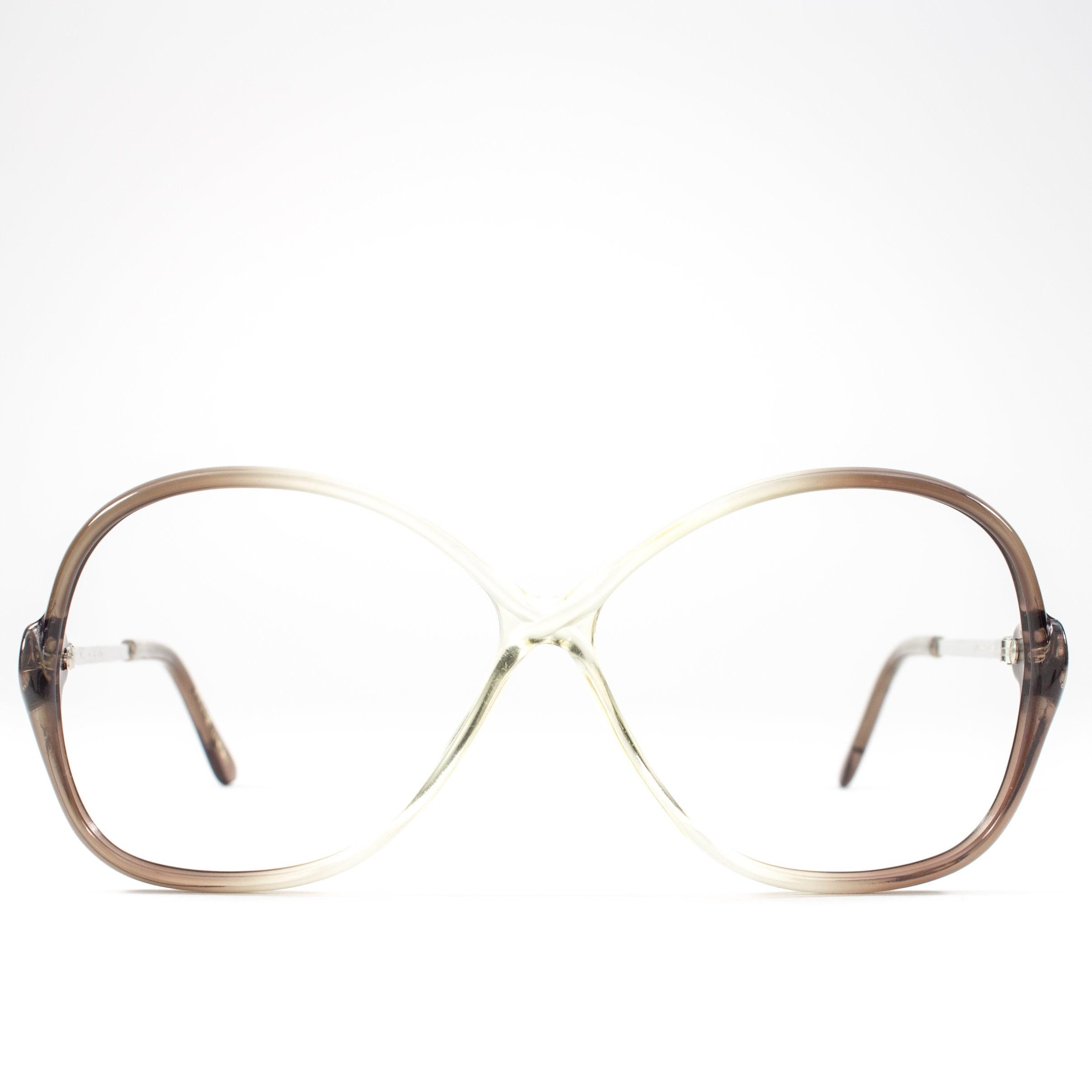 60634c8585 Oversized 1980s Eyeglasses