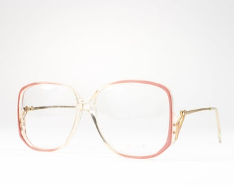 80s Vintage Glasses | 1980s Eyeglasses | Oversized Glasses Frames | Eighties Deadstock Eyewear - Abby Rose
