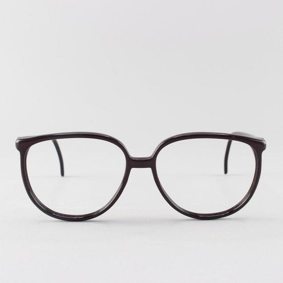 80s Eyeglasses | Vintage Glasses | Plum 1980s Eyeglass Frame