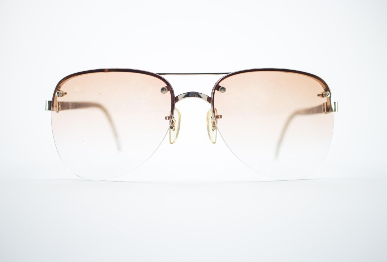 1970er Jahre Vintage Sonnenbrille 70er Jahre gold
