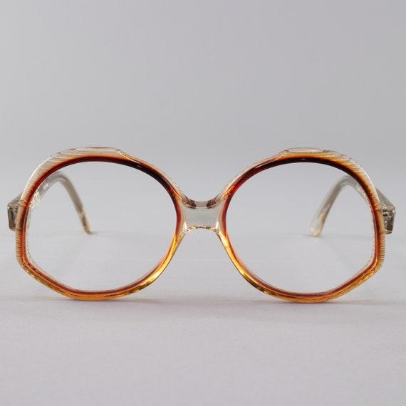 Vintage Eyeglasses | 70s Glasses | Oversized Vintage Eyeglass Frame | 1970s Aesthetic - Ravenna 2