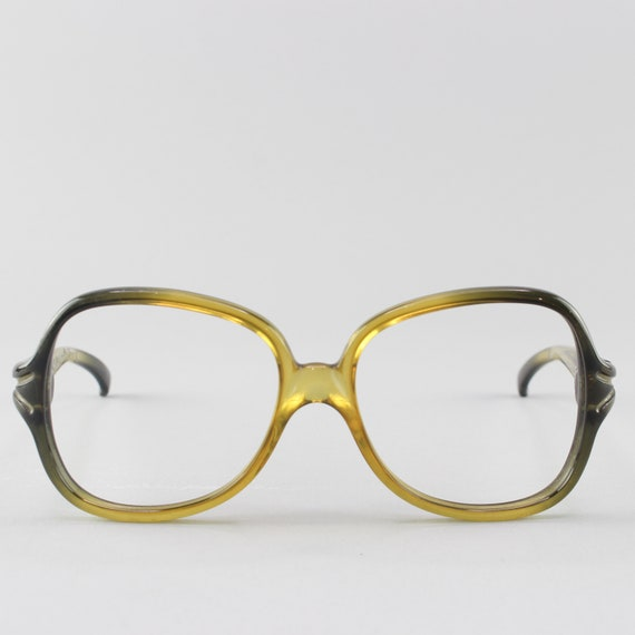 70s Eyeglasses | Vintage Glasses | Round Eyeglass Frame | 1970s Look - 2028